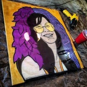Basement Bar Janis Joplin