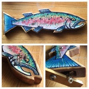 Cribbage Board SteelHead