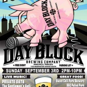 DayBlock Porktoberfest Poster 2017