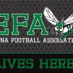 Edina Youth Football Yard Sign 2017