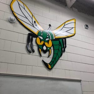 Edina High School Locker Room Hornet