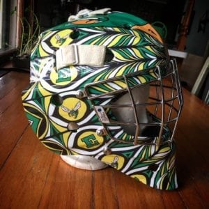 Edina GoalieMask Soren Side