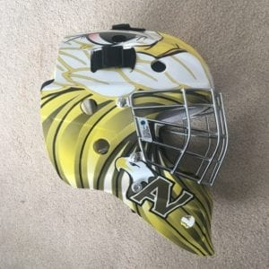 Goalie Mask Apple Valley