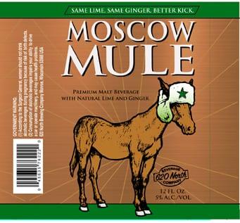 Moscow Mule Beverage Packaging