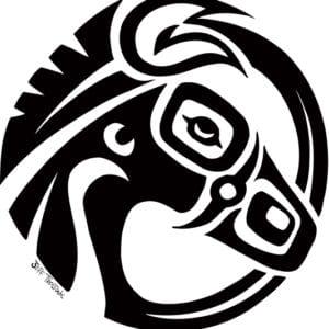Gov't Mule MuleHead Circle Logo 2017