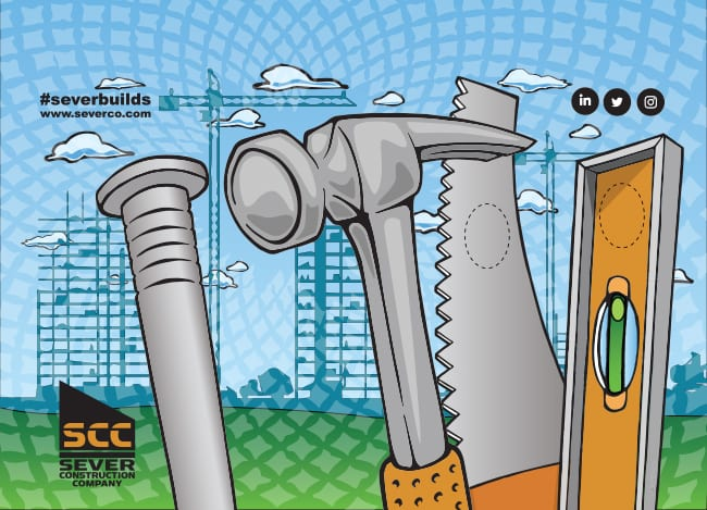 Sever Construction Illustration 2018
